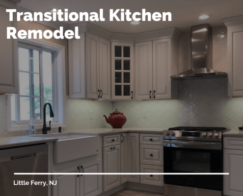 Transitional Kitchen Remodel Project Reveal In Little Ferry Nj